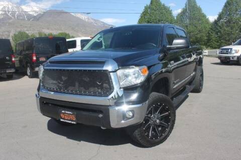 2016 Toyota Tundra for sale at REVOLUTIONARY AUTO in Lindon UT