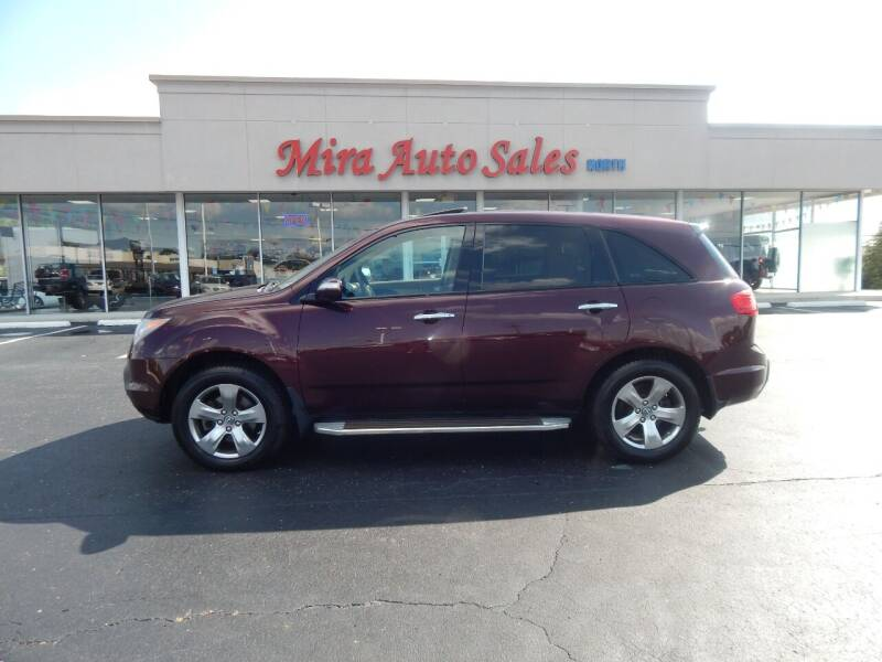 2007 Acura MDX for sale at Mira Auto Sales in Dayton OH