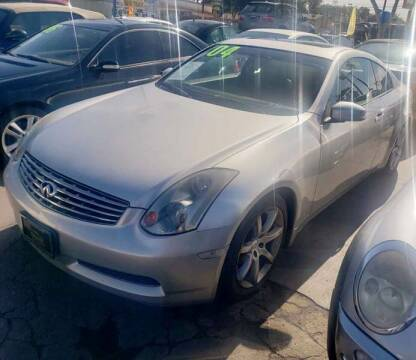 2004 Infiniti G35 for sale at Crown Auto Inc in South Gate CA