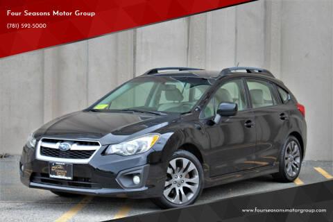 2012 Subaru Impreza for sale at Four Seasons Motor Group in Swampscott MA