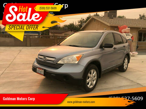 2008 Honda CR-V for sale at Goldman Motors Corp in Stockton CA