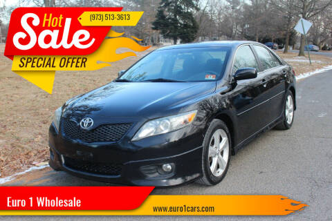 2011 Toyota Camry for sale at Euro 1 Wholesale in Fords NJ
