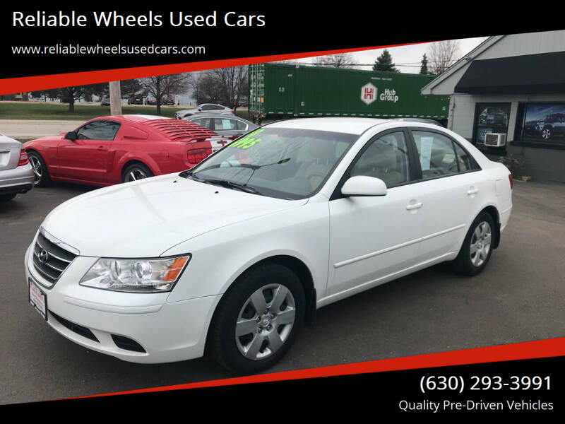 2010 Hyundai Sonata for sale at Reliable Wheels Used Cars in West Chicago IL