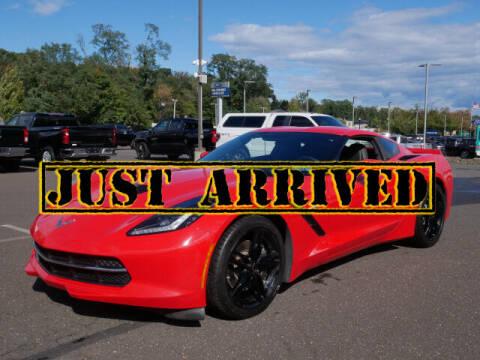 2016 Chevrolet Corvette for sale at BRYNER CHEVROLET in Jenkintown PA
