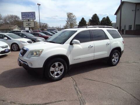 2007 GMC Acadia for sale at Budget Motors - Budget Acceptance in Sioux City IA