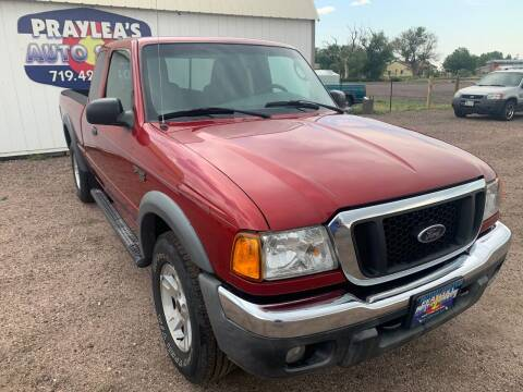 2004 Ford Ranger for sale at Praylea's Auto Sales in Peyton CO