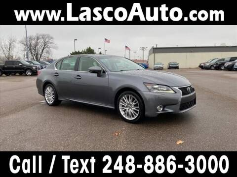 2013 Lexus GS 350 for sale at Lasco of Waterford in Waterford MI