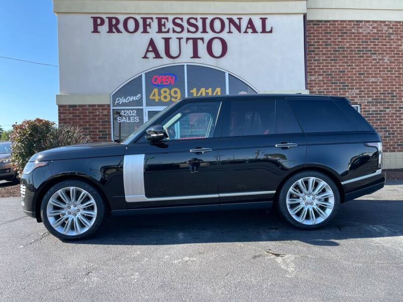 2022 Land Rover Range Rover for sale at Professional Auto Sales & Service in Fort Wayne IN
