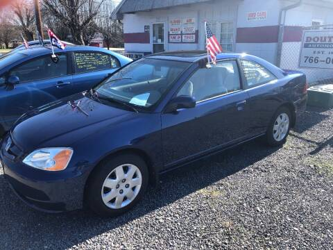 2002 Honda Civic for sale at Douthit Automotive, LLC in Advance NC