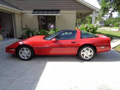 1989 Chevrolet Corvette for sale at BALKCUM AUTO INC in Wilmington NC