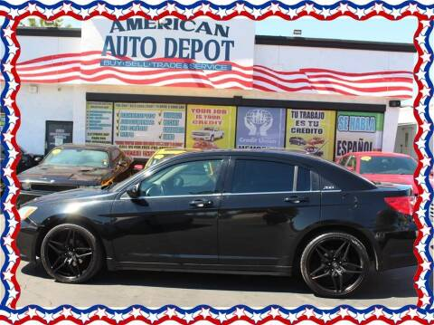 2014 Chrysler 200 for sale at American Auto Depot in Modesto CA