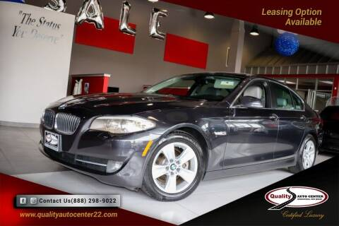 2013 BMW 5 Series for sale at Quality Auto Center of Springfield in Springfield NJ