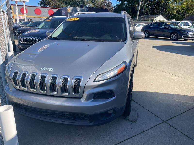 2014 Jeep Cherokee for sale at Matthew's Stop & Look Auto Sales in Detroit MI
