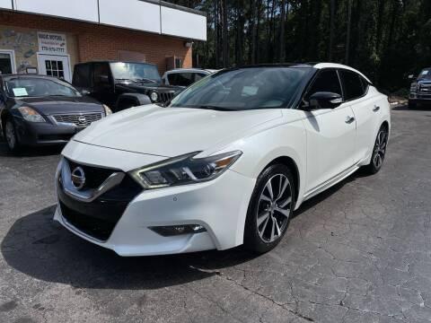 2016 Nissan Maxima for sale at Magic Motors Inc. in Snellville GA