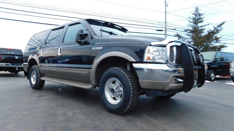 2001 Ford Excursion for sale at Action Automotive Service LLC in Hudson NY