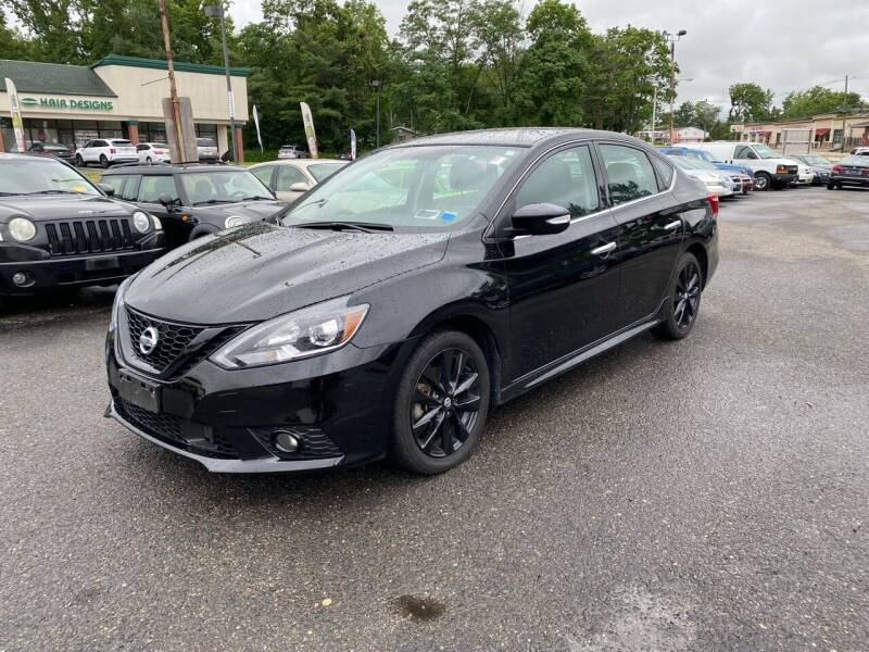 2018 Nissan Sentra for sale at Union Avenue Auto Sales in Hazlet NJ