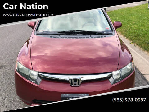 2008 Honda Civic for sale at Car Nation in Webster NY