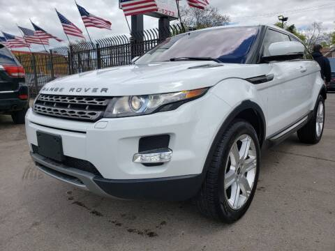 2012 Land Rover Range Rover Evoque Coupe for sale at Gus's Used Auto Sales in Detroit MI
