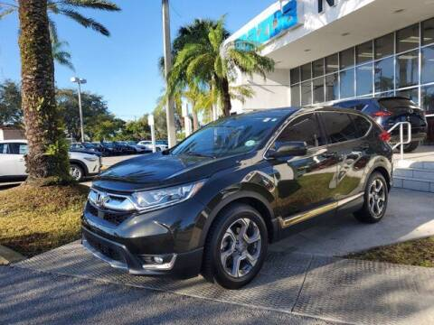 2018 Honda CR-V for sale at Mazda of North Miami in Miami FL
