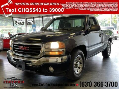 2006 GMC Sierra 1500 for sale at CERTIFIED HEADQUARTERS in Saint James NY
