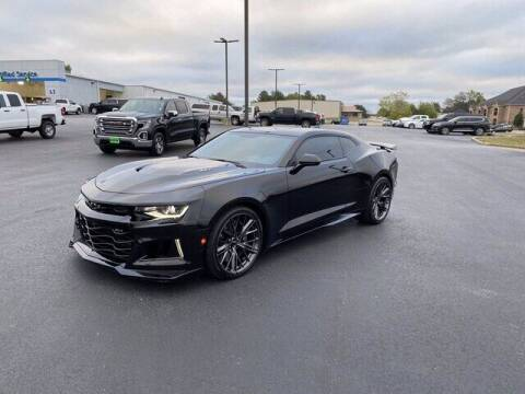 2021 Chevrolet Camaro for sale at DOW AUTOPLEX in Mineola TX