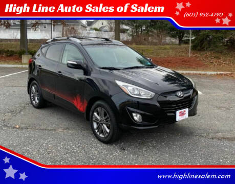 2014 Hyundai Tucson for sale at High Line Auto Sales of Salem in Salem NH