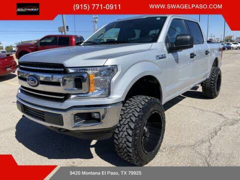 2018 Ford F-150 for sale at SOUTHWEST AUTO GROUP-EL PASO in El Paso TX