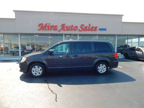 2012 Dodge Grand Caravan for sale at Mira Auto Sales in Dayton OH