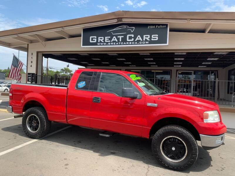 2004 Ford F-150 for sale at Great Cars in Sacramento CA