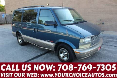 2002 Chevrolet Astro for sale at Your Choice Autos in Posen IL