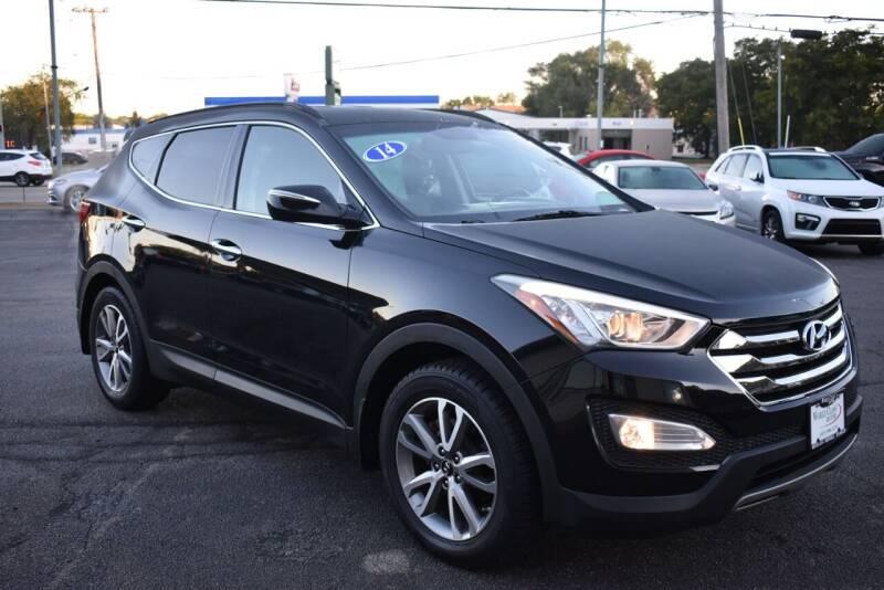 2014 Hyundai Santa Fe Sport for sale at World Class Motors in Rockford IL
