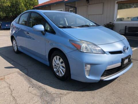 2014 Toyota Prius Plug-in Hybrid for sale at Martinez Truck and Auto Sales in Martinez CA
