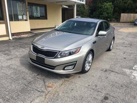 2015 Kia Optima for sale at Beach Cars in Fort Walton Beach FL