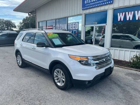 2013 Ford Explorer for sale at Lee Auto Group Tampa in Tampa FL