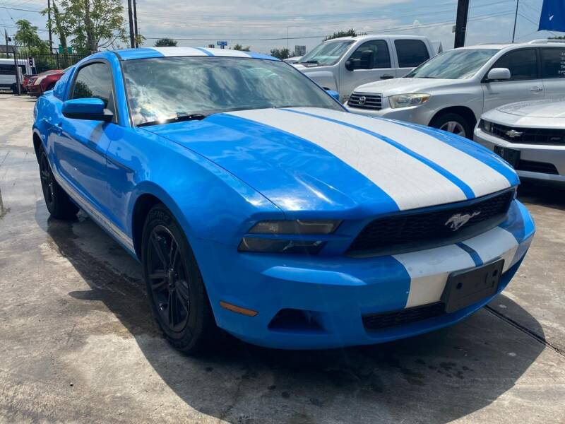 2010 Ford Mustang for sale at AUTOTEX FINANCIAL in San Antonio TX