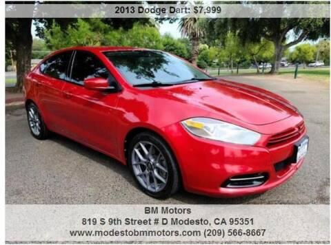 2013 Dodge Dart for sale at BM Motors in Modesto CA