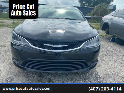 2016 Chrysler 200 for sale at Price Cut Auto Sales in Orlando FL