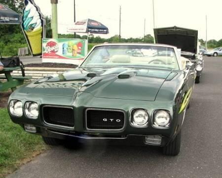 1970 Pontiac GTO for sale at Black Tie Classics in Stratford NJ