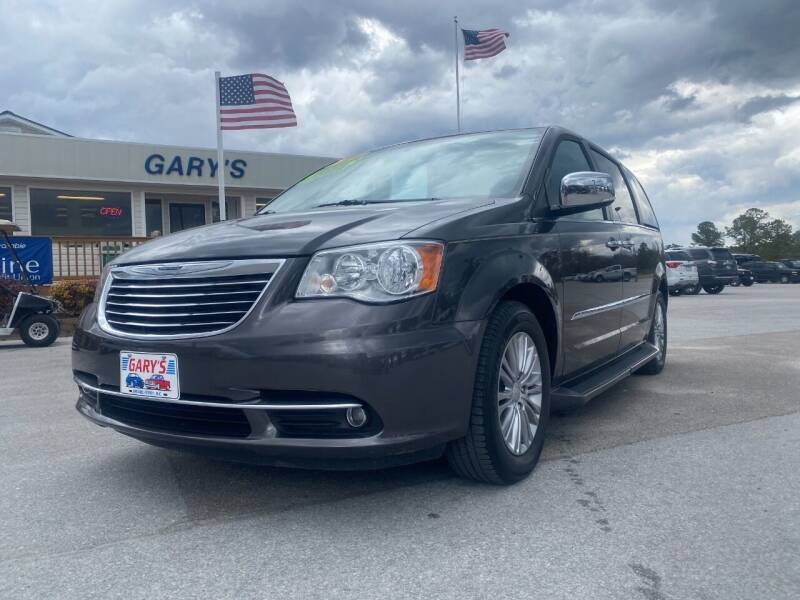 2016 Chrysler Town and Country for sale at Gary's Auto Sales in Sneads NC