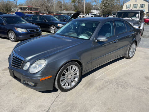 2008 Mercedes-Benz E-Class for sale at LAURINBURG AUTO SALES in Laurinburg NC