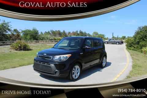 2014 Kia Soul for sale at Goval Auto Sales in Pompano Beach FL