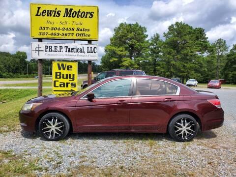2010 Honda Accord for sale at Lewis Motors LLC in Deridder LA