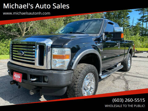 2008 Ford F-250 Super Duty for sale at Michael's Auto Sales in Derry NH