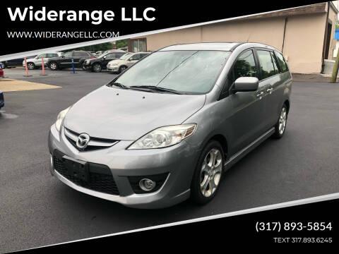 2010 Mazda MAZDA5 for sale at Widerange LLC in Greenwood IN