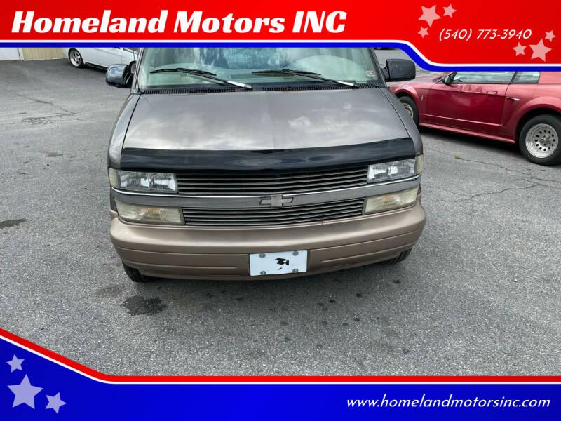 1999 Chevrolet Astro LS