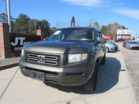 2006 Honda Ridgeline for sale at J T Auto Group in Sanford NC