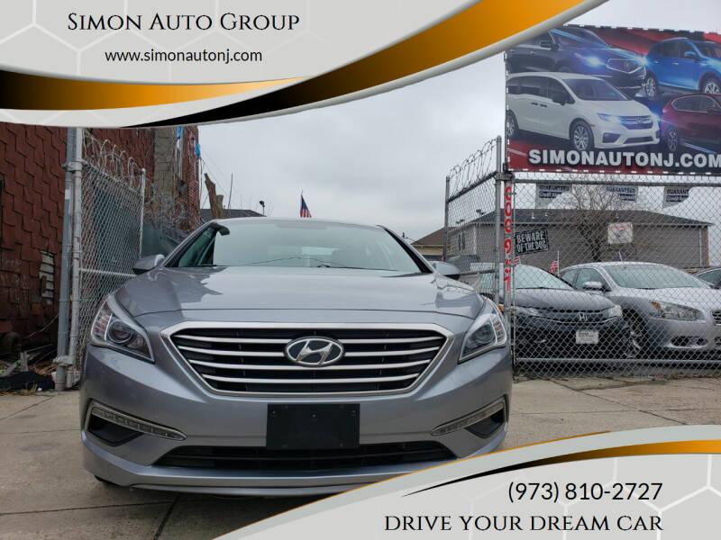 2017 Hyundai Sonata for sale at Simon Auto Group in Newark NJ