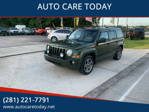 2008 Jeep Patriot for sale at AUTO CARE TODAY in Spring TX