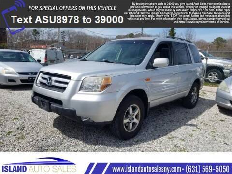 2008 Honda Pilot for sale at Island Auto Sales in E.Patchogue NY
