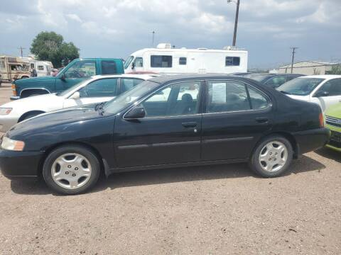 2000 Nissan Altima for sale at PYRAMID MOTORS - Fountain Lot in Fountain CO